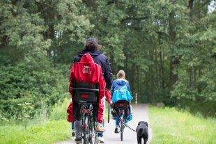Fahrradtour im Grünen mit WichtelWarm