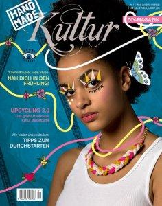 Dilasi im Handmade Kultur Magazin, Ausgabe 1/2017